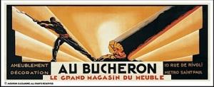 """Adolphe Jean-Marie Mouron """"Cassandre"""" - Cartel Au Boucheron (1923)"""