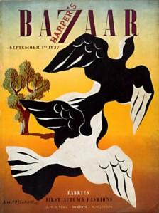 "Adolphe Jean-Marie Mouron ""Cassandre"" - Portada para HArper´s Bazaar (1937)"