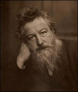 William Morris - Fotografía de Frederick Hollyer (1887)