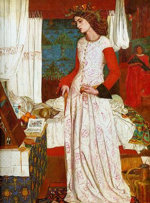 William Morris - La Bella Isolda (1858) - Tate Britain