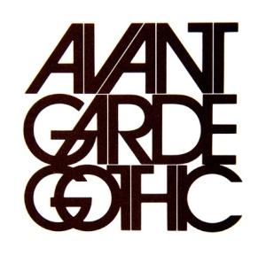 Herbert Lubalin - Tipografía Avant Garde