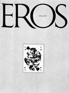 Herbert Lubalin - Portada de la revista Eros (1962)
