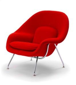 Eero Saarinen - Sillón Womb (Modelo nº 70) para Knoll & Asociados (1947-1948)