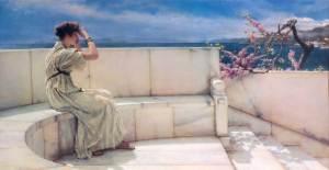 Lawrence Alma-Tadema - Esperanzas (1885)