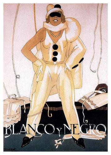 l de Penagos Cubierta para la revista Blanco y Negro