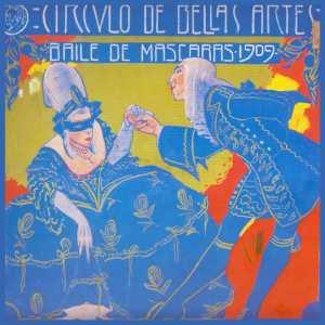 Rafael de Penagos Cartel para baile Circulo 1909