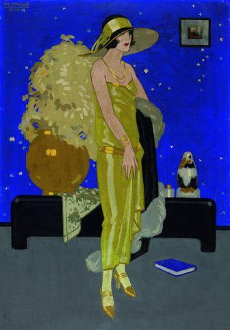 Rafael de penagos Ilustración. Gouache sobre papel (1923)