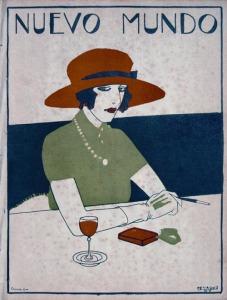 Rafael de Penagos Portada Nuevo Mundo 1920