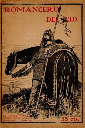 Rafael de Penagos Romacero del Cid La novela Ilustrada 1910