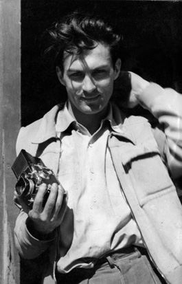Retrato de Ernst Haas en Munich (años 40)