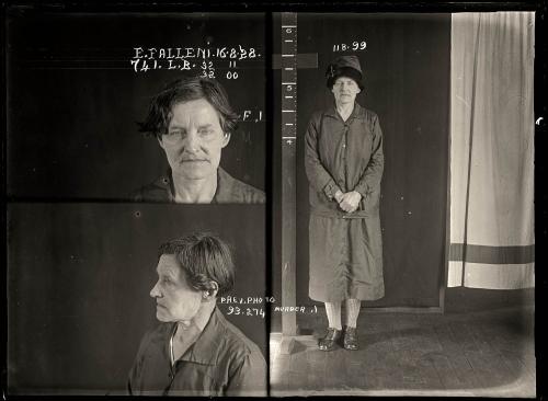 Eugenia Falleni 16 agosto de 1928 con 43 años