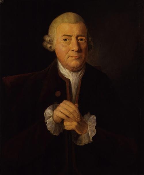 La imagen muestra un cuadro en el que aparece un hombre de cierta edad, en plano medio. Lleva una chaqueta oscura con chaleco y una camisa blanca con volantes que sobresalen por las mangas de la chaqueta. Pulse para ampliar