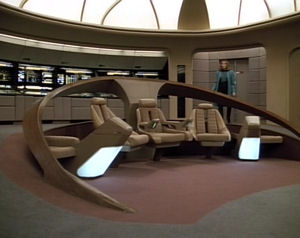 Star Trek The Next Generation. Episodio 4x05 Remember Me 1990