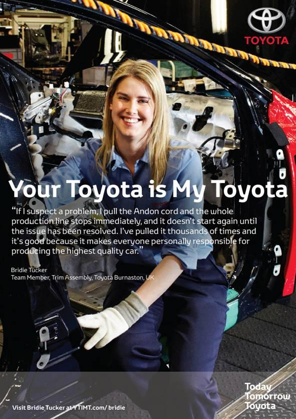 Años 2010- Toyota cadena de montaje