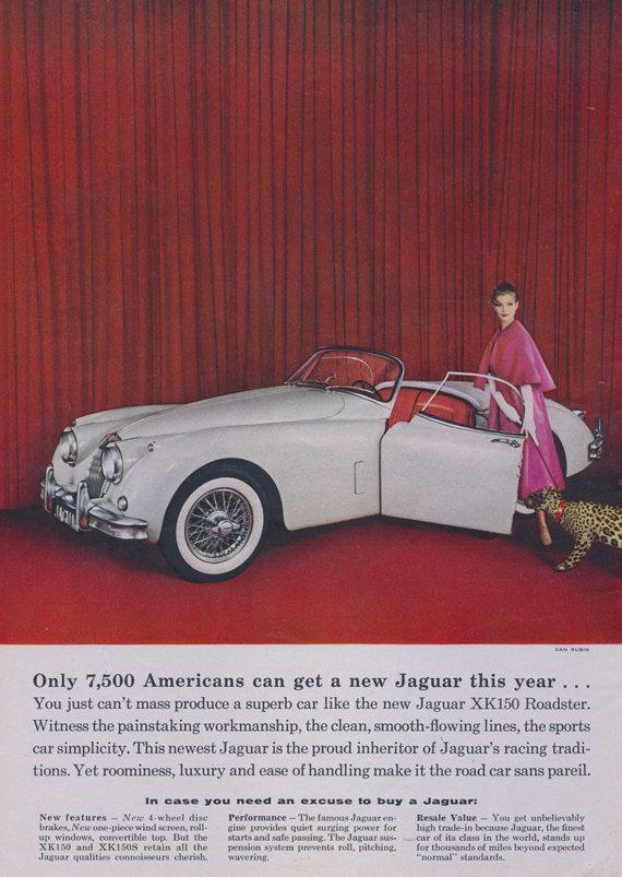 Años 50. Jaguar Mujer con Guepardo