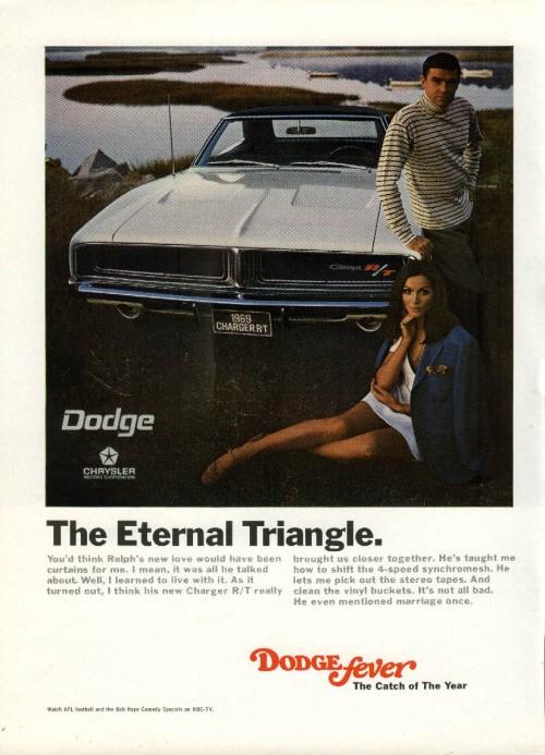 Años 70. Dodge el eterno triángulo