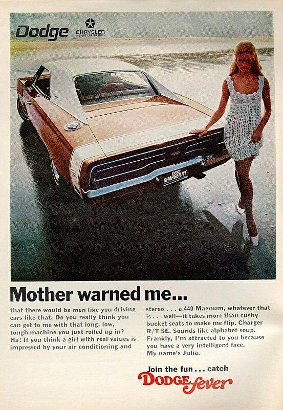 Años 70 Dodge Mi madre me advirtió