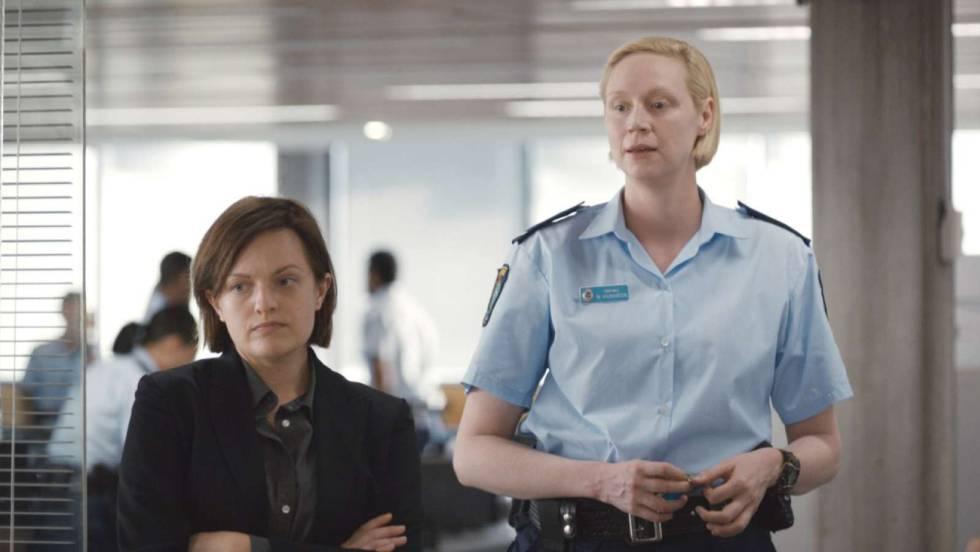 Elizabeth Moss y Gwendoline Christie interpretan a dos policías en Top of the Lake. La relación entre ambas fluctúa entre el compañerismo obligado y la falta de comprensión ant